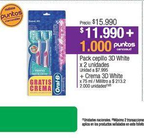 Oferta de Cepillo de dientes Oral B por $11990