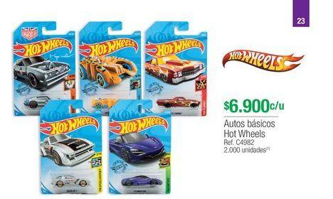 Oferta de Juguetes Hot Wheels por $6900