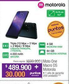 Oferta de Celulares Motorola por $489900