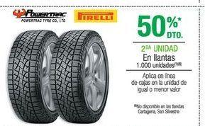 Oferta de Llantas Pirelli por