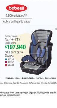 Oferta de Silla de carro Bebesit por $197940