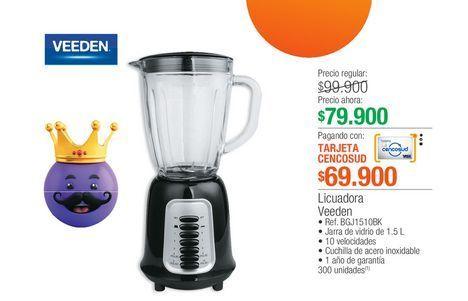 Oferta de Licuadora Veeden por $69900