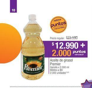 Oferta de Aceite de girasol Premier por $12990