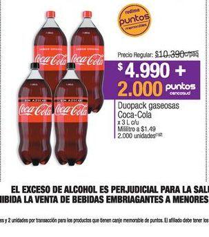 Oferta de Coca-Cola por $4990