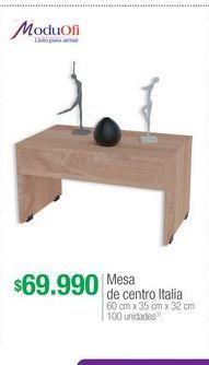 Oferta de Mesa de centro ModuOfi por $69990
