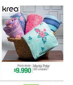 Oferta de Manta Krea por $9990