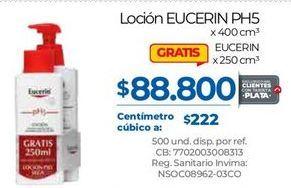 Oferta de Loción hidratante Eucerin por $88800