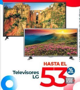 Oferta de Televisores LG por
