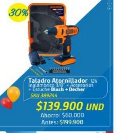 Oferta de Taladro atornillador Black & Decker por $139900
