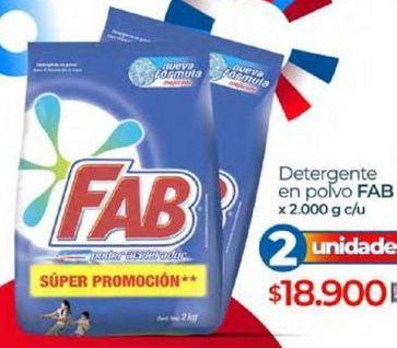 Oferta de Detergente en polvo Fab por $18900