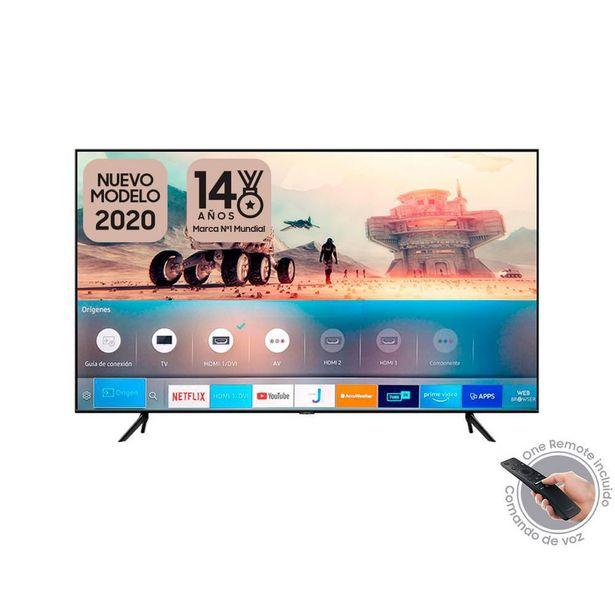 Oferta de TV QLED 139 CMS (55) UHD SMART SAMSUNG 55 Pulgadas  Smart Tv QN55Q60TAK por $2099900