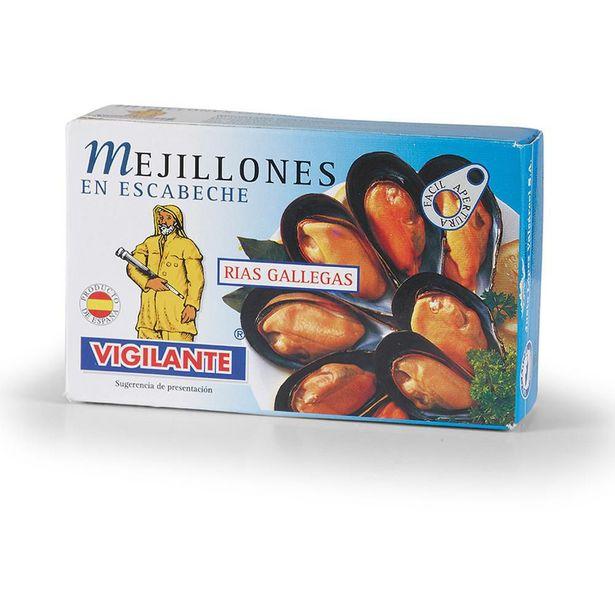 Oferta de Mejillones En Escabeche 115 gr por $8270