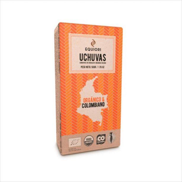 Oferta de Uchua Cubierta Con Chocolate Oscuro Organico 50 Gr por $14000