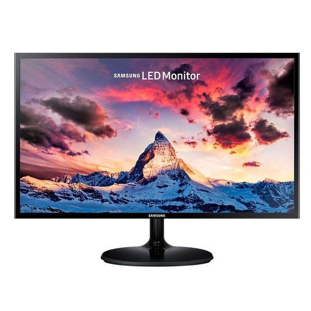 Oferta de Monitor Samsung Ls24f350fhlxzl 24 Pulg Led Negro por $548990