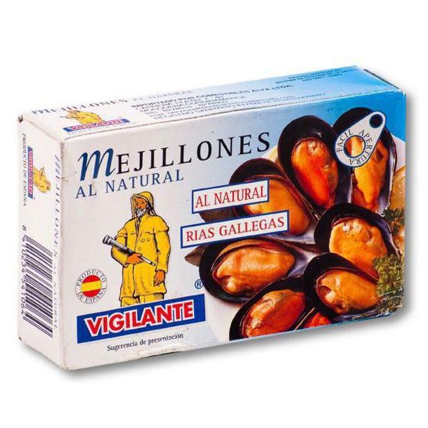 Oferta de Mejillones Al Natural 115 gr por $8140