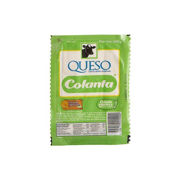 Oferta de Queso Blanco Colanta x 1000 gr por $14550