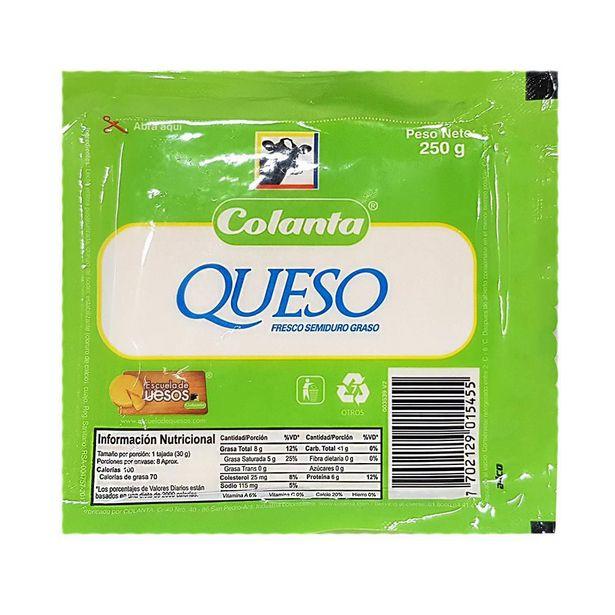 Oferta de Queso Blanco Colana x 250 gr por $3890