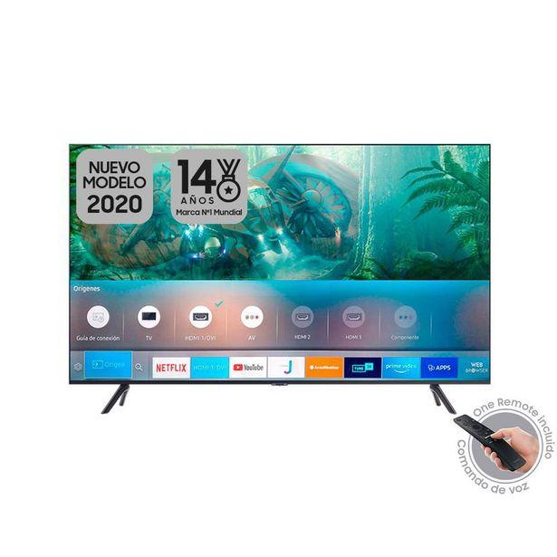 Oferta de Televisor Samsung Crystal 50 pulgadas UHD 4K Smart TV 2020 - TU8000 por $1449900
