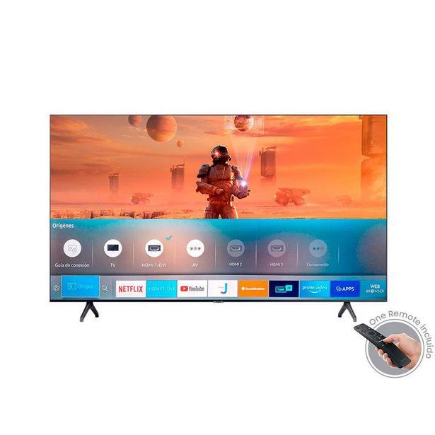 Oferta de Televisor LED Samsung 160 Cms 65 Pulgadas UHD Smart UN65TU7000 por $2349900