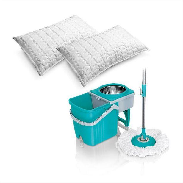 Oferta de Trapero giratorio Stainless + Dos almohadas Ultrasonido por $179900