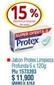 Oferta de Jabón de tocador Protex por $11900