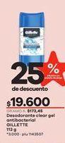 Oferta de Desodorante Gillette por $19600