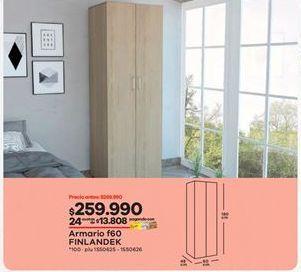 Oferta de Armarios Finlandek por $259990