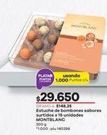 Oferta de Bombones Montblanc por $29650
