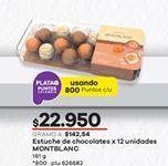 Oferta de Chocolate Montblanc por $22950