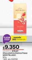 Oferta de Chocolatinas Montblanc por $9350