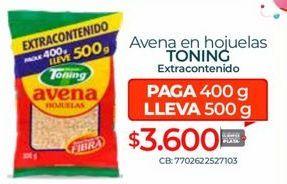 Oferta de Avena en hojuelas Toning por $3600