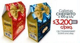 Oferta de Galletas por $3200