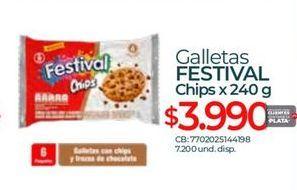 Oferta de Galletas Festival por $3990