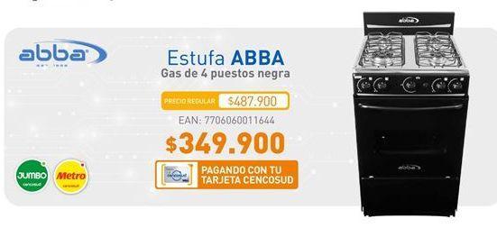 Oferta de Estufa Abba por $349900