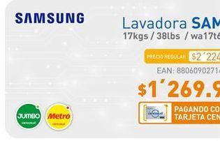 Oferta de Lavadora Samsung por $1269900
