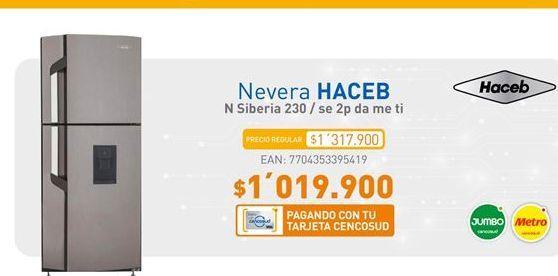 Oferta de Nevera Haceb por $1019900