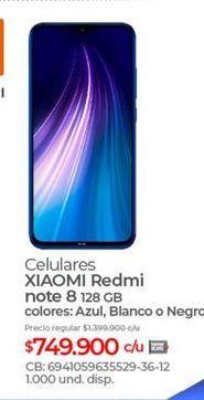 Oferta de Celular libre Xiaomi por $749900