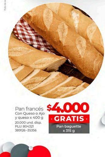Oferta de Pan frances por $4000