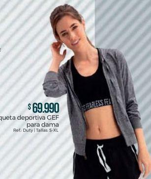 Oferta de Chaqueta deportiva por $69990