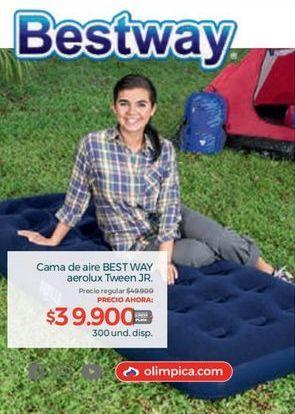 Oferta de Colchón inflable Bestway por $39900