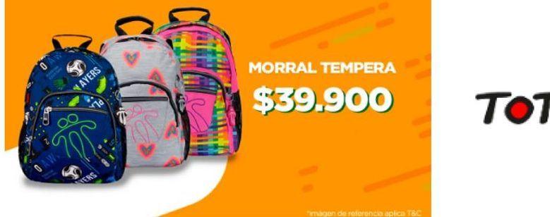 Oferta de Morral tempera por $39900