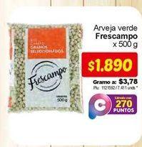 Oferta de Arvejas frescampo por $1890