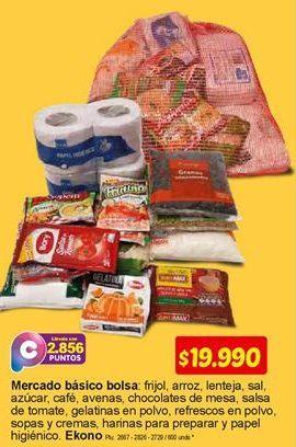 Oferta de Mercado básico bolsa por $19990