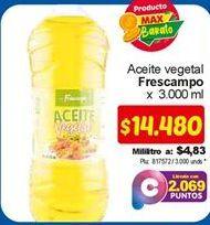 Oferta de Aceite vegetal frescampo por $14480