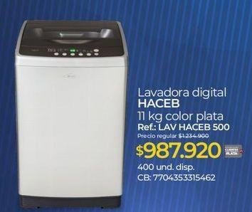 Oferta de Lavadora carga superior Haceb por $987920