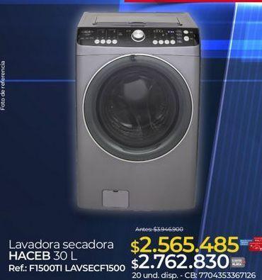 Oferta de Lavadora secadora Haceb por $2762830