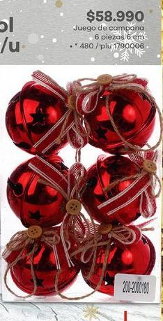 Oferta de Bolas árbol de Navidad por $58990
