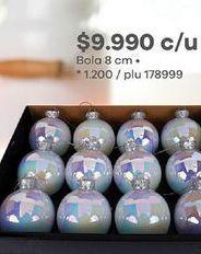 Oferta de Bolas árbol de Navidad por $9990