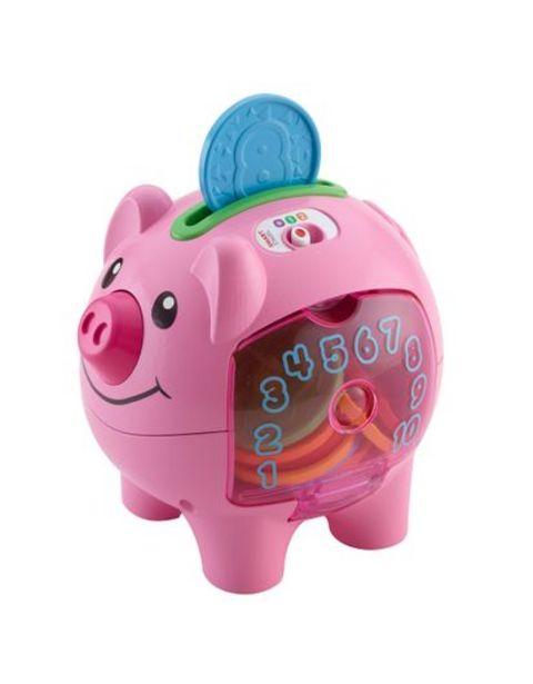Oferta de Alcancía Cerdito Ríe y Aprende Fisher Price CDG67 por $123220
