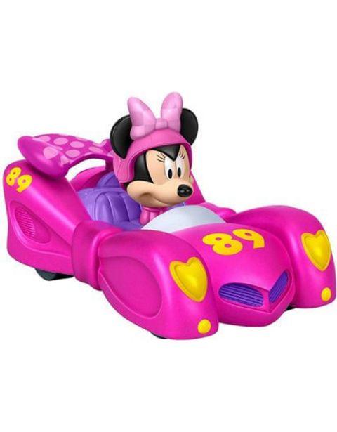 Oferta de Carro Mickey Roadster Racers Minnie Fisher Price FJJ36 por $64660